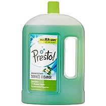 [Pantry] Amazon Brand – Presto! Disinfectant Floor Cleaner Jasmine, 2 L