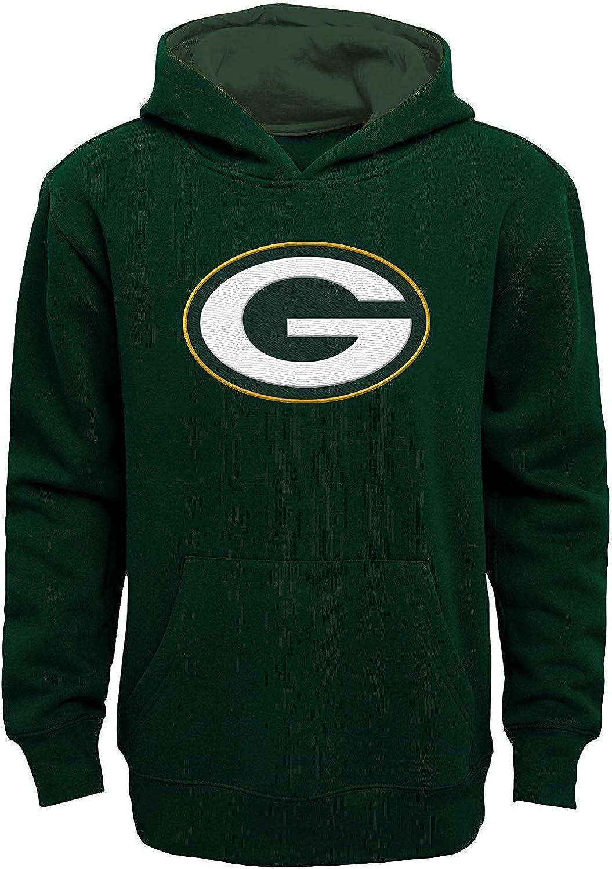 NFL Boys Youth Branded goods 8-20 Team Color Prime 2021 model Pullover Fleec Primary Logo
