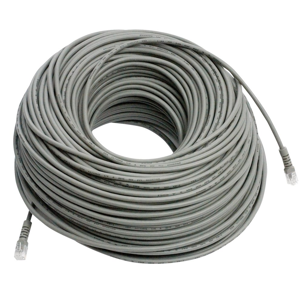 Amazon.com : REVO America 200 feet RJ12 Cable with Coupler [R200RJ12C] Grey  : Computer Ethernet Cables : Camera & Photo