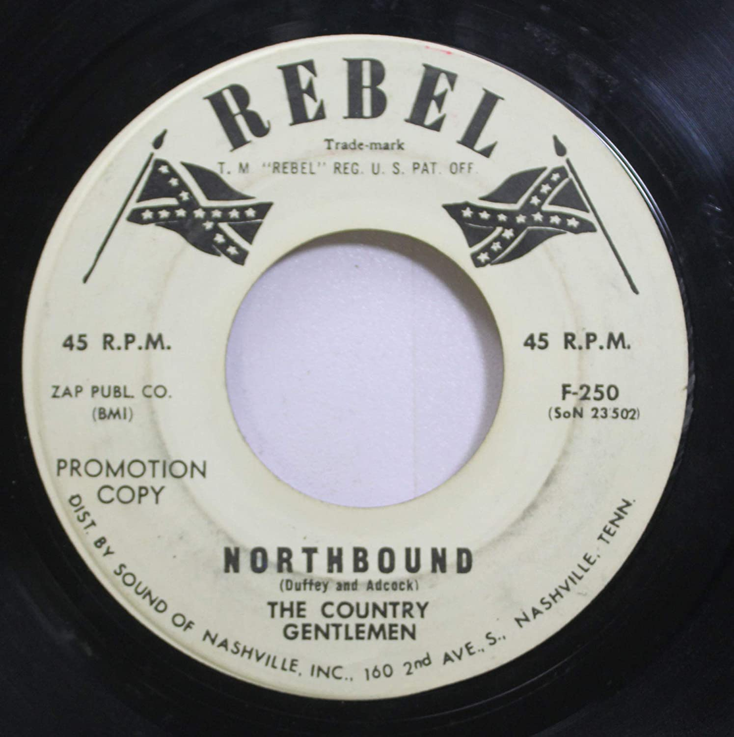 The Country Gentlemen 45 RPM Northbound / Bringing Mary Home