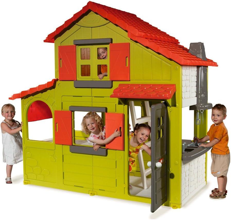 Smoby - Duplex, casa de Juguete (320021): Amazon.es: Juguetes y juegos