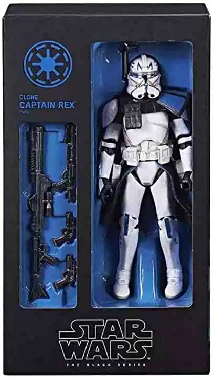 New in stock Star Wars The Black Series Clone Captain Rex 6-Inch Figure