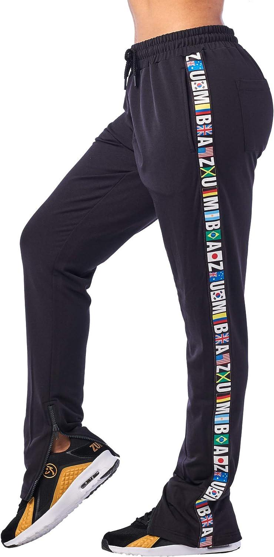 Zumba Pantaloni Tuta Donna da Allenamento Traspiranti Sportivi da Danza Activewear Pantaloni Larghi