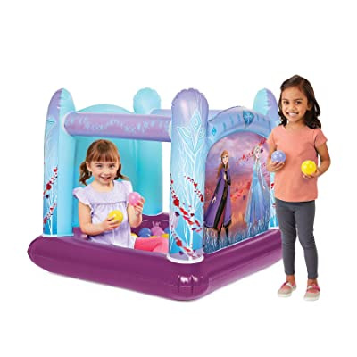 Disney Frozen Frozen 2 Ball Pit Playland, 1 Inflatable & 20 Soft-Flex Balls, Model:500241-4: Toys & Games