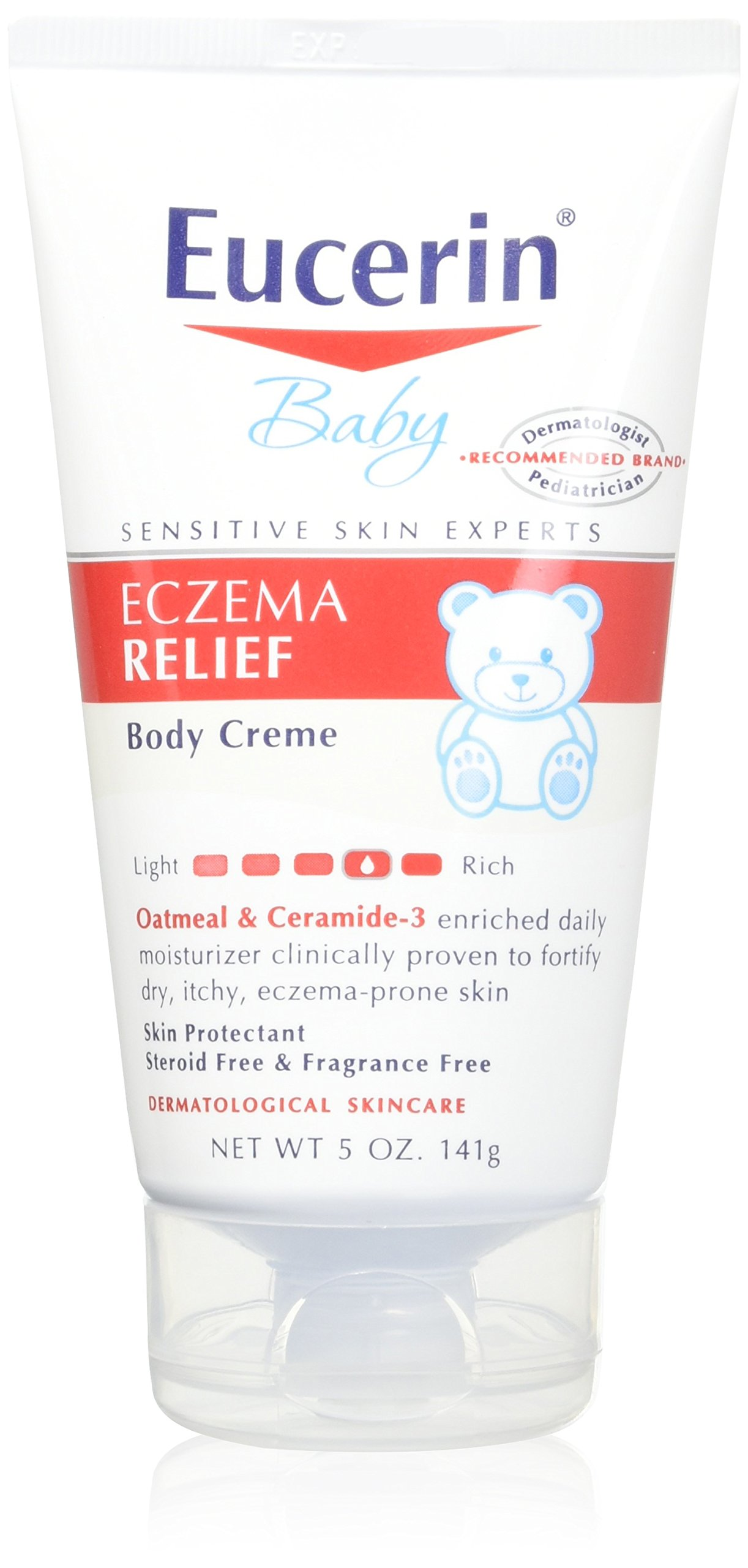 Eucerin Baby Eczema Relief Body Creme 5oz - 2 Pack by Eucerin