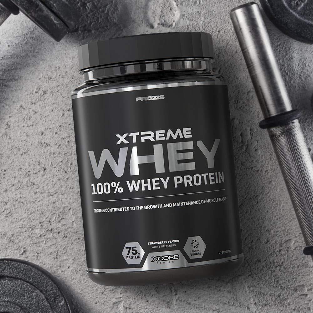 Prozis Xtreme Whey Protein SS 2000 g Chocolate y nuez