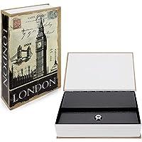 Navaris Caja fuerte con forma de libro