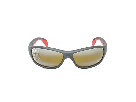 Amazon.com: Vuarnet VL 0113 0006 7184 Negro/Rojo con lentes ...