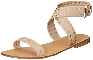 3926af9c7 Forever 21 Women s Nude Fashion Sandals - 6 UK India (38 EU)(8  US)(0025163904)  Buy Online at Low Prices in India - Amazon.in