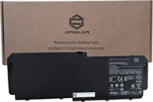 JIAZIJIA AM06XL Laptop Battery Replacement for HP ZBook 17 G5 G6 Series Notebook HSTNN-IB8G L07350-1C1 L07044-855 Black 11.55V 95.9Wh 8310mAh 6-Cell