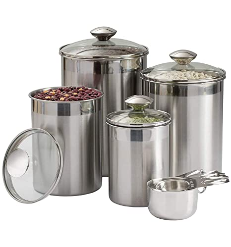 Amazoncom Beautiful Canisters Sets For The Kitchen Counter 8