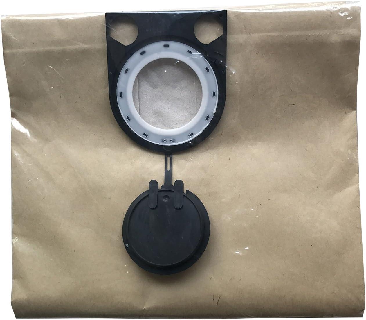 reyee 5 piezas bolsas de polvo para Bosch GAS 25 bolsas de filtro de papel reemplazar 2605411167: Amazon.es: Hogar