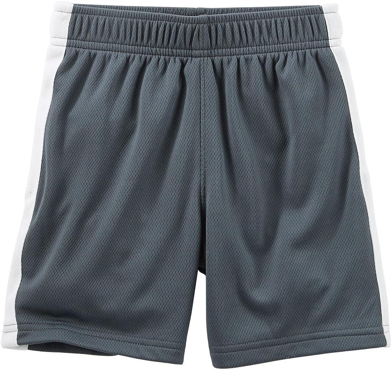 6 Months Gray OshKosh BGosh Baby Boys Active Shorts
