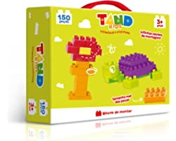 Tand Kids Maleta 150 Peças Toyster Brinquedos
