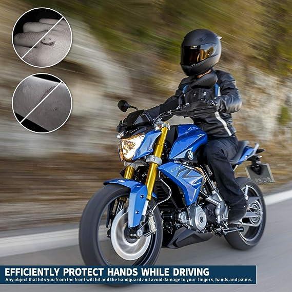 Leoie Almohadilla de extensi/ón Profesional para pie de Motocicleta para BMW G310GS 17-18