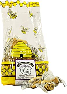 product image for Queen Bee Gardens Natural Honey Caramel Pralines Candy Chews – 5.87 oz – Almond Coconut