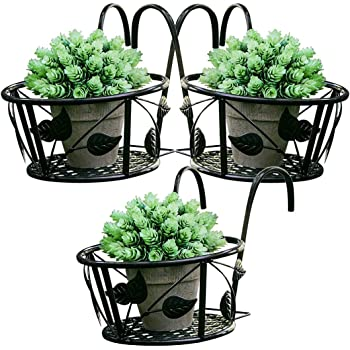 Adjustable Self Watering Railing Planter 24 24 Bama 30219 For