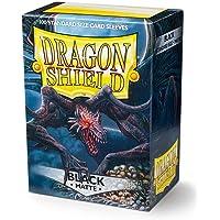Dragon Shield ART11002 Sleeves 100 Matte Black