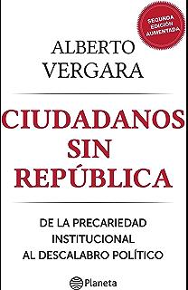 Ciudadanos sin República (Spanish Edition)