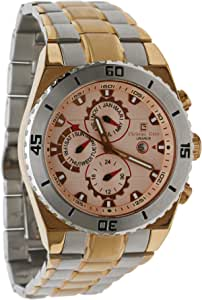 Christian Geen Analog Watch For Men - Stainless Steel, Multi Color - 2740Gbsb-Wh