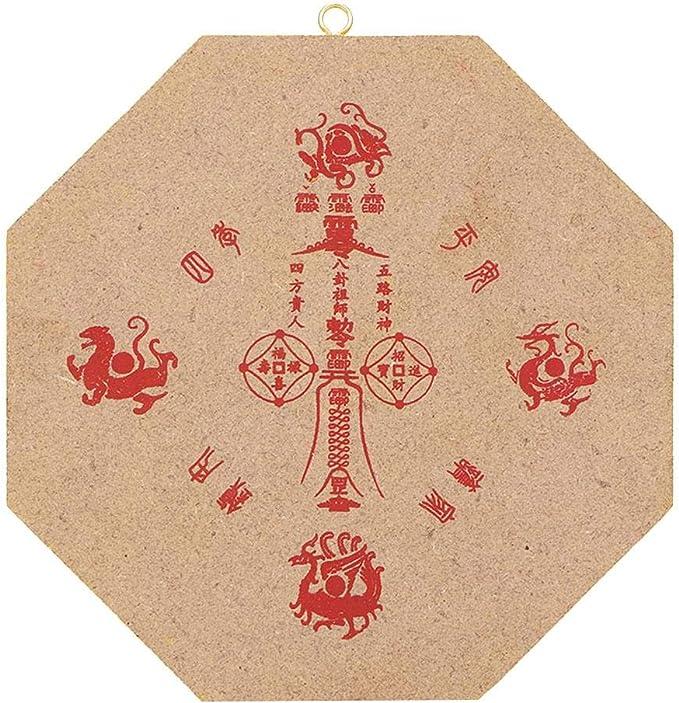 Concave Talismano taoista convesso dello specchio bagua convesso cinese di FengShui dellammaccatura per lornamento di affari della decorazione domestica