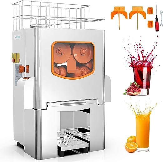 Exprimidor de zumo de naranja eléctrico, automático, máquina de ...
