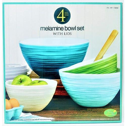 Plastic Mixing Bowls With Lids Amazon Com