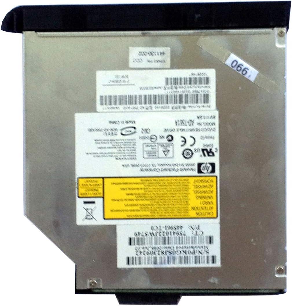 HP DV6000 DVD-RW IDE Optical Drive AD-7561A 445961-TC0 Black