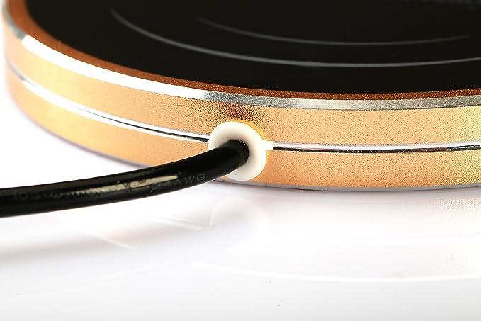 Escritorio USB placa de aislamiento de calor Calentador Calentador de café té taza calentador eléctrico calentador de bebidas para uso en interiores & al ...