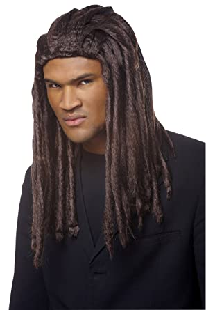 men Brown dreadlocks