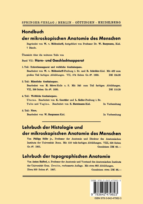 Buy Harn- und Geschlechtsapparat: Dritter Teil Weibliche ...