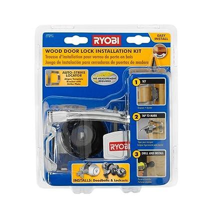 Ryobi A99DLK1 Wood Door Lock Installation Kit