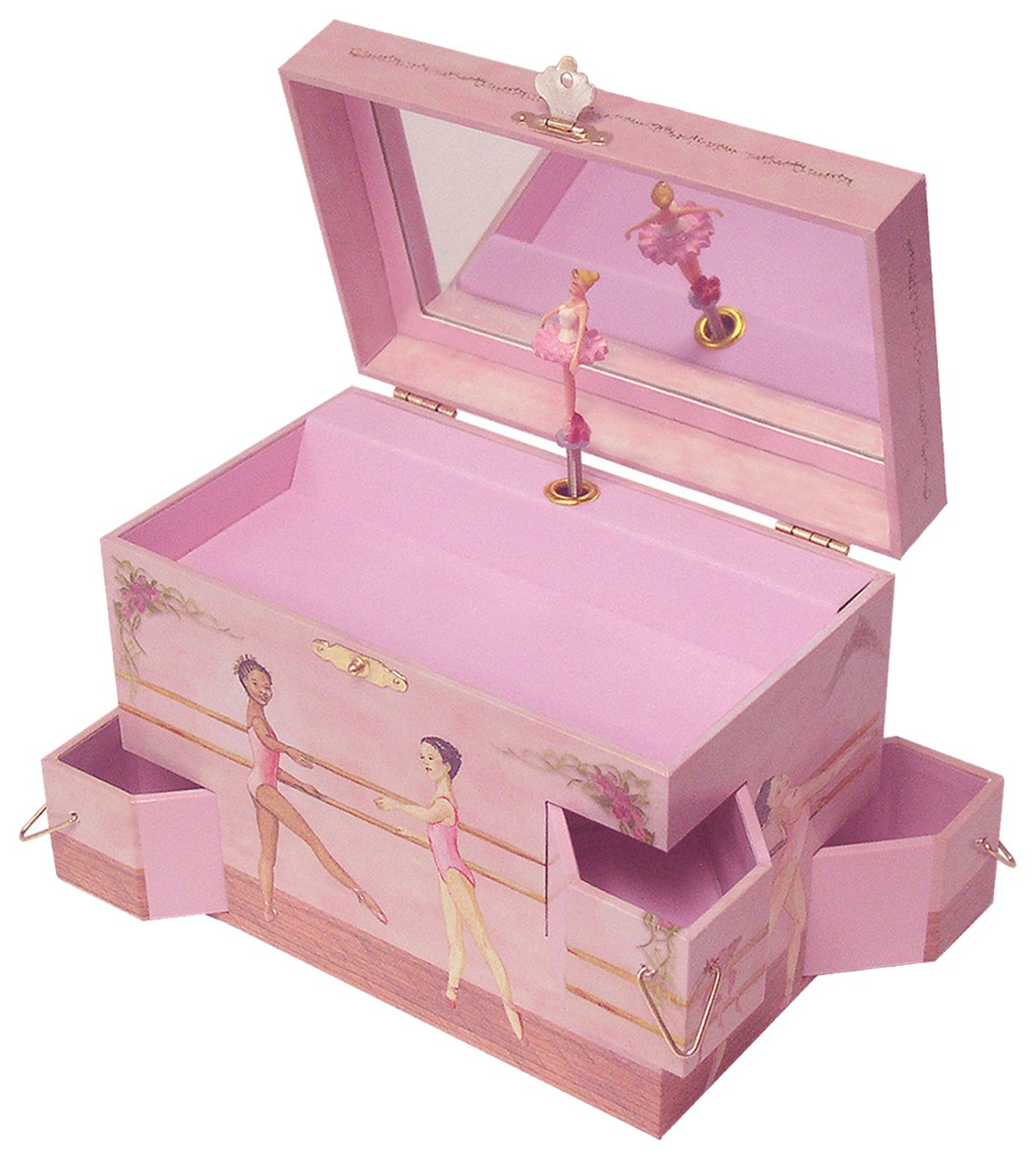 Amazoncom Enchantmints Ballet School Musical Jewelry Box Toys Games