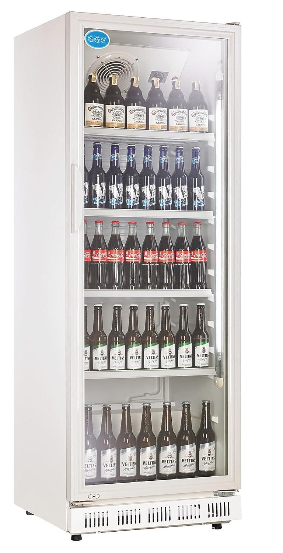 wDesigns Gastro Flaschenkühlschrank Glastür 360 Liter ...