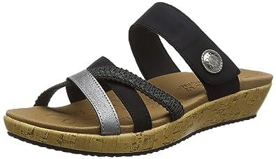 39b7d89f0772 Skechers Women s Brie-Lo profile Open Toe Sandals  Amazon.co.uk ...