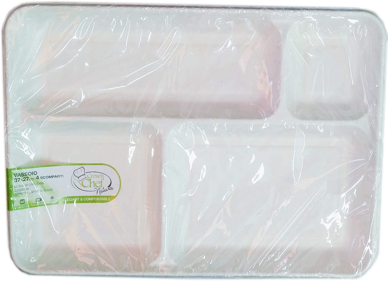Crown 20 bandejas 4 compartimentos platos, 3.6 cm de altura. 37 X ...