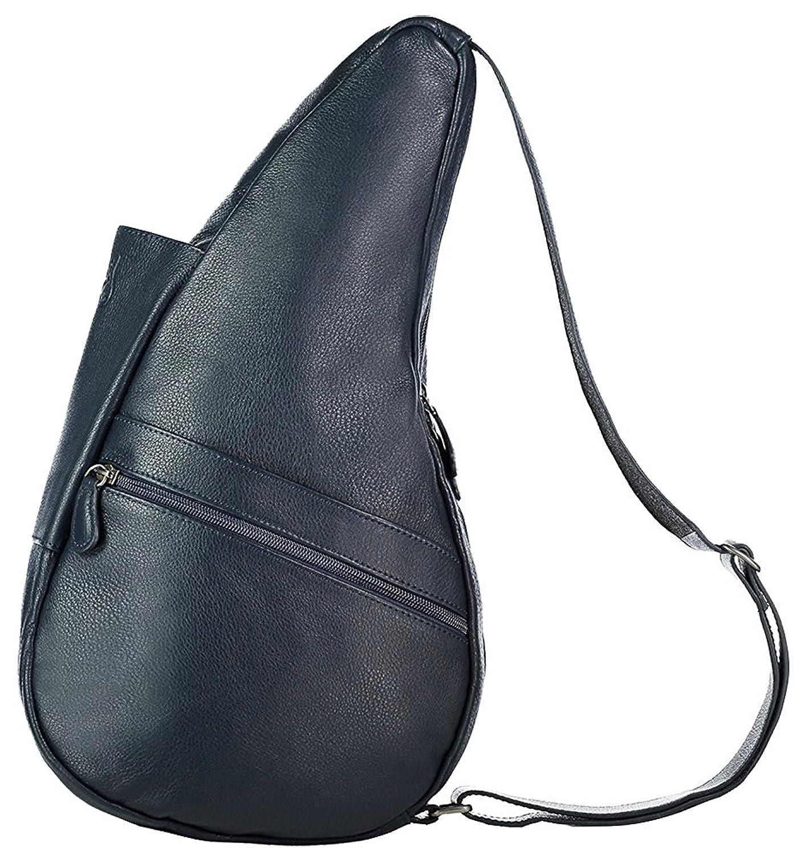 HEALTHY BACK BAG(ヘルシーバックバッグ) レザー Sサイズ B076YZR8HFネイビー