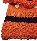 Baby Boys Girls Cute Fox Scarf Hood Scarves Earflap Hat Cap Toddler Autumn Winter Warm Knitted Beanie Hats