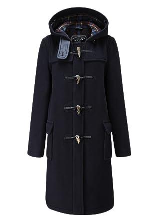 à bas prix b5d79 61dad Original Montgomery Ladies Classic Long Duffle Coat Navy ...
