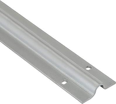 Riel de suelo galvanizado para puertas correderas de 2 m para atornillar para rollos de puerta de 20 mm de diámetro: Amazon.es: Bricolaje y herramientas