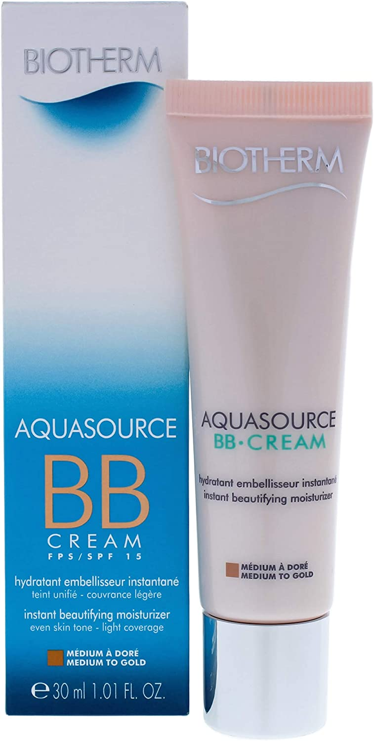 Biotherm Aquasource Bb Cream Spf15 Medium To Gold 30 ml