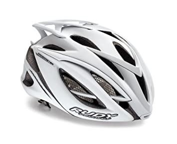 Rudy Project Racemaster - Casco de Bicicleta - Blanco Contorno de la Cabeza 54-58