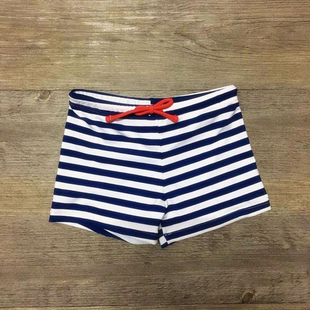 Toddler Kid Boys Streak Stretch Swimsuit Swimwear Shorts Rucan Boys Stripe Swim Trunks