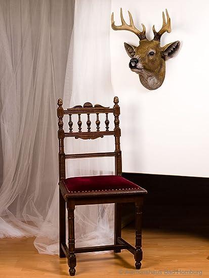 Grandes Decoración de pared ciervos resina perchero de ...