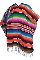 Leos Imports Unisex Adult One Size Multi-color Mexican Zarape Serape