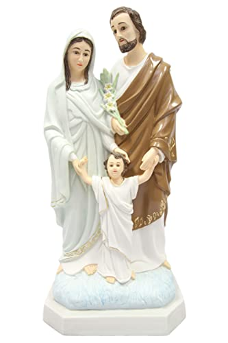20 Holy Family Joseph Mary Jesus Catholic Religious Statue Figure By Vittoria Collection Made in Italy