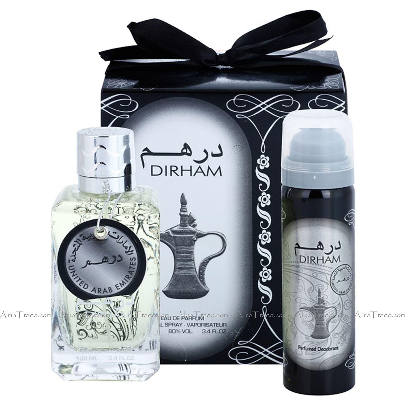 Dirham 100ml EDP Perfume, Free Deodrant inside the box Ard al Zaafaran
