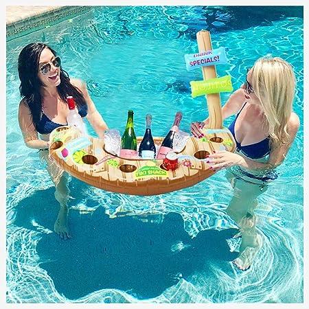 QMZDXH Piscina de Agua Enfriador Hinchable, Summer Piscina Inflable Soporte Mega Hielo Cerveza Enfriador Bebida Piscina de Verano Flotador: Amazon.es: Hogar