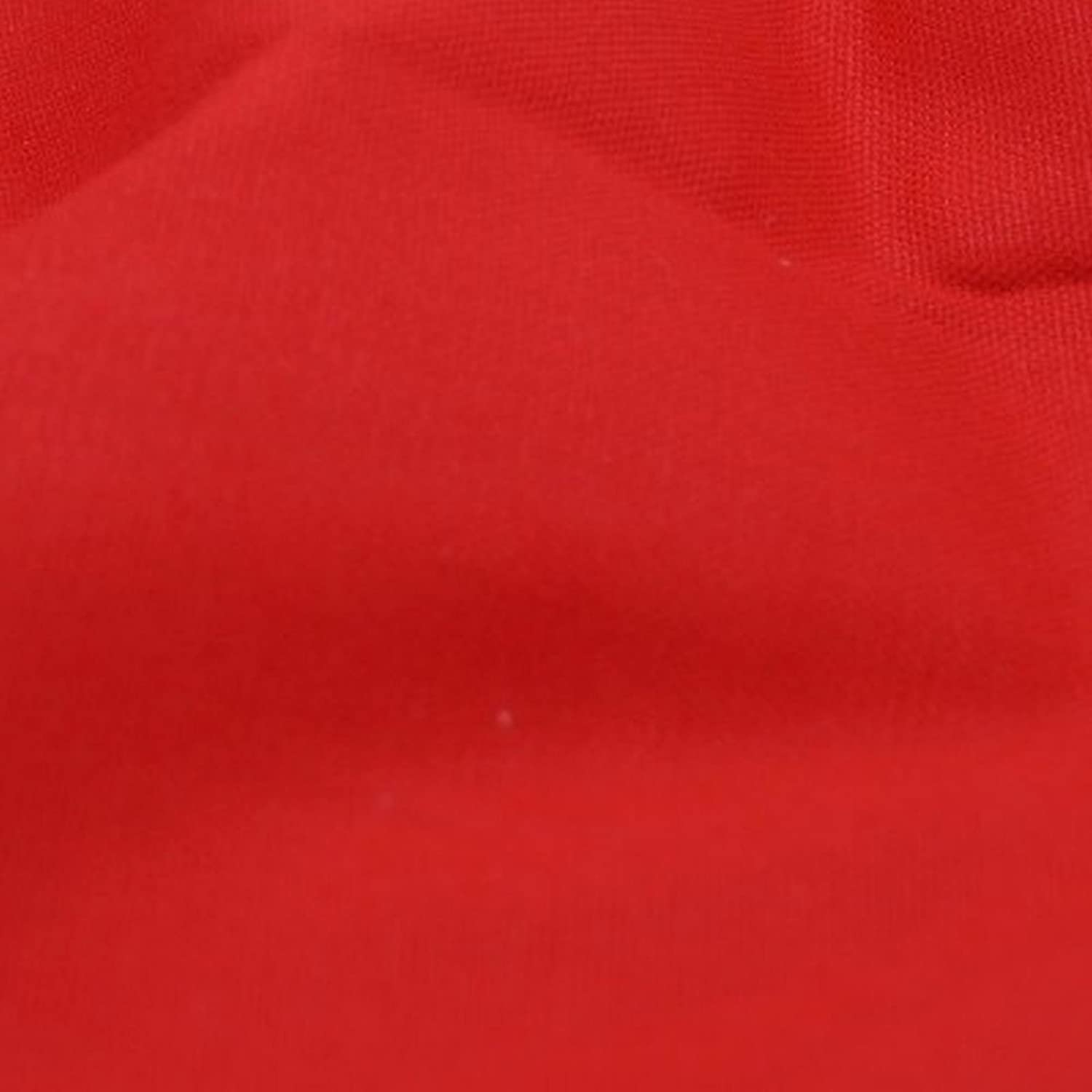 Red Solid Cotton Canvas Metre