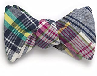 product image for Patchwork Madras Bow Tie- Tod's Point